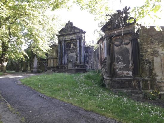 Chalmers and Cunningham tombs, Greyfriars Cemetery