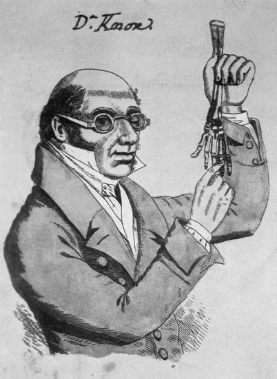 Doctor Robert Knox (contemporary sketch)