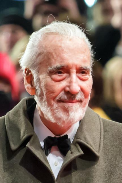 Christoper Lee at the Berlin International Film Festival 2013 (credit: Avda / Wikimedia Commons)