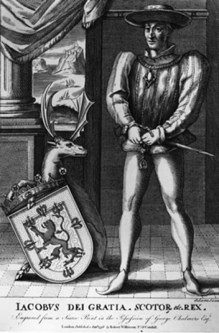 King James II, seen here about to cut a fool for fronting.