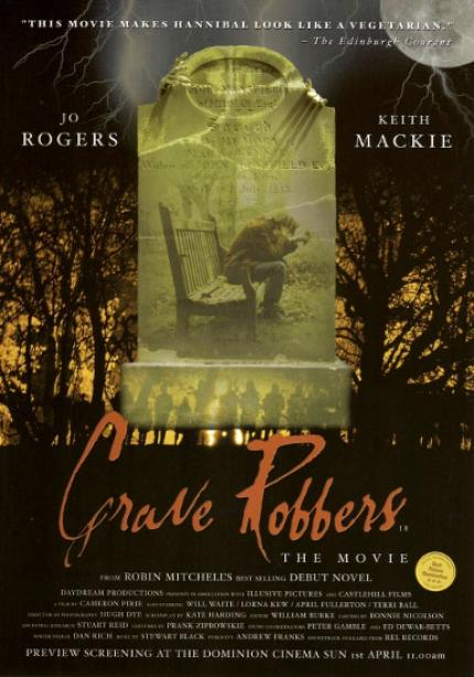 Poster for Grave Robbers: The Movie