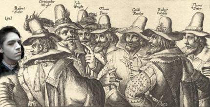 The Gunpowder Plotters, with added Lyal