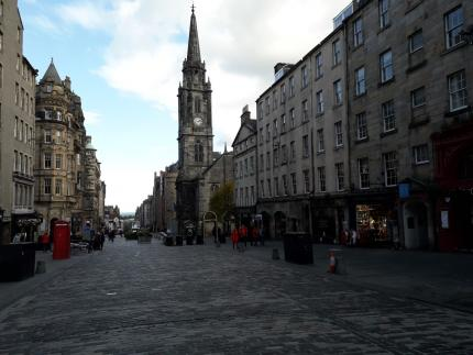 The Tron Kirk on Edinburgh's Royal Mile