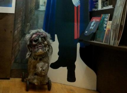 West Bow Sheba, The Witchery Tours' guard-dog (and friend)